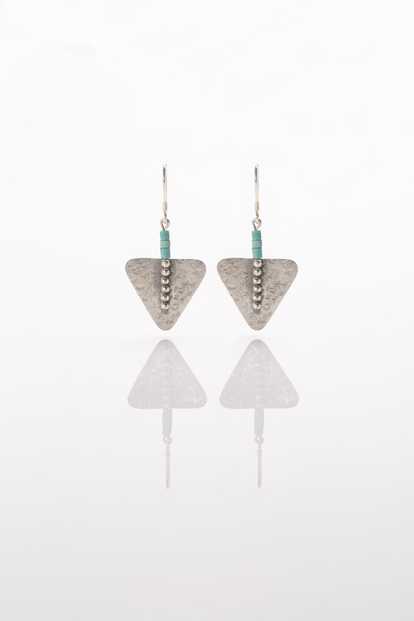 Prism Earrings ~ Sterling silver