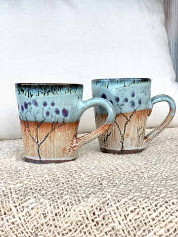 Tree Mugs ~ Local Ceramics