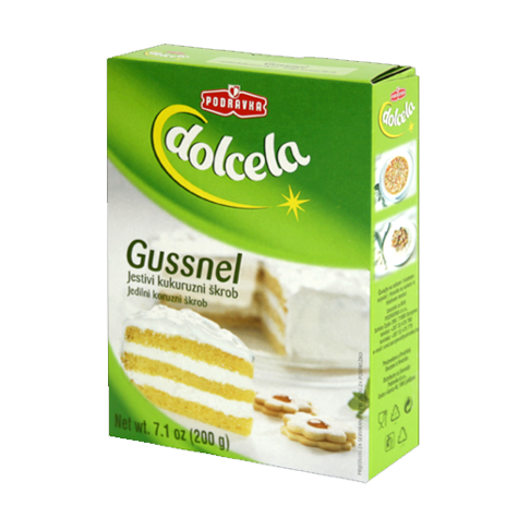 DOLCELA Baking Gussnel Starch 9/200g