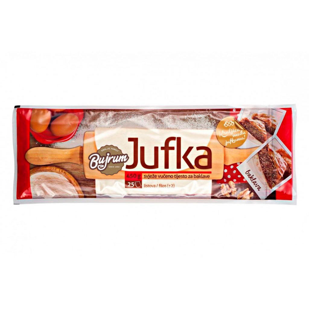 BUJRUM Jufka for Baklava 18/450g [Frozen]