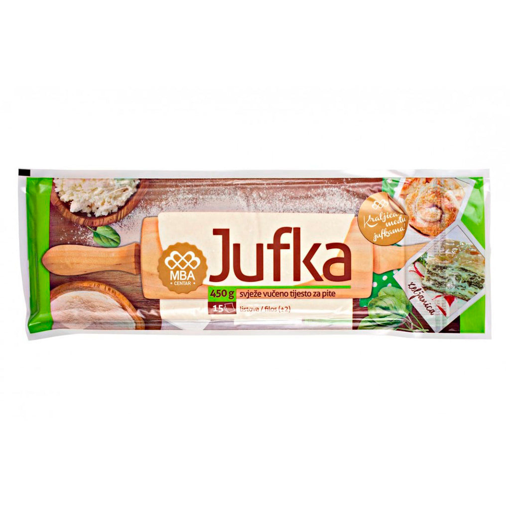 BUJRUM Jufka for Pita 18/450g [Frozen]