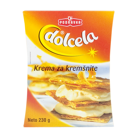 DOLCELA Cream Powder for Custar Slices [Krem za Kremsnite] 7/230g