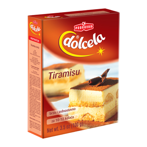 DOLCELA Cream Powder for Tiramisu Cream Mix 9/100g