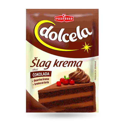 DOLCELA Slag Cream Chocolate 18/60g