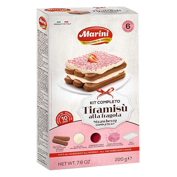 MARINI Tiramisu Complete Kit Strawberry 10/220g