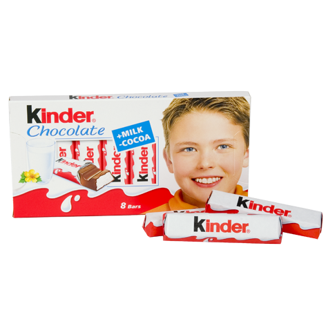 KINDER Chocolate 40/100g