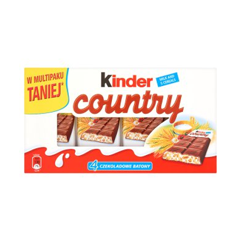 FERRERO Kinder Country 4-pack 24/(4x23.5g)