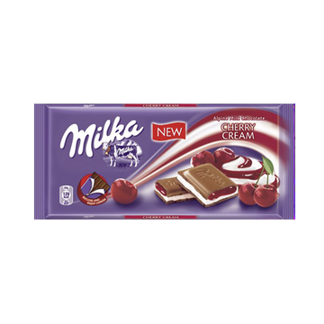 MILKA Cherry Cream 22/100g