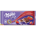 MILKA Erderbeer [Strawberry] 22/100g
