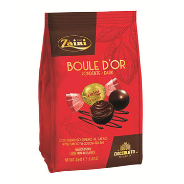 ZAINI Boule D'Or Dark Chocolate Truffles 12/154g