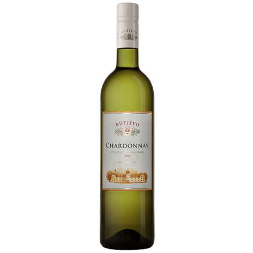 KUTJEVO Chardonnay Quality White Wine 2011 6/750ml