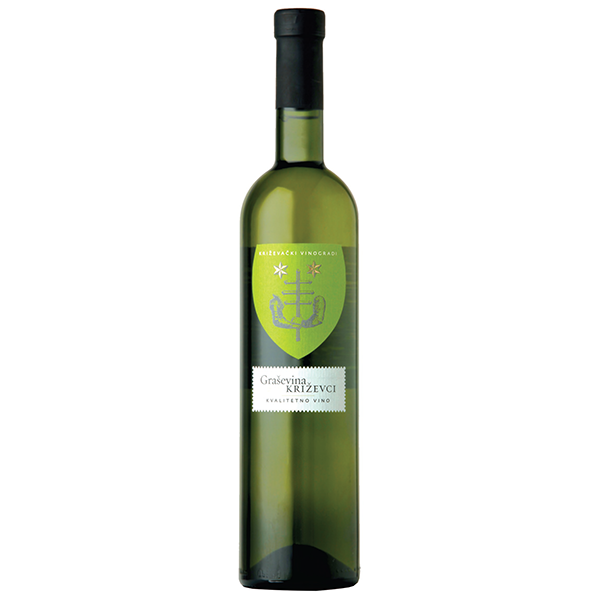 BADEL KRIZEVACKI VINOGRADI Grasevina Quality White Wine 6/750ml