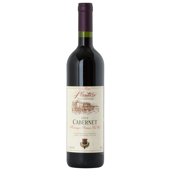 PLANTAZE Cabernet Premium Red Wine 6/750ml