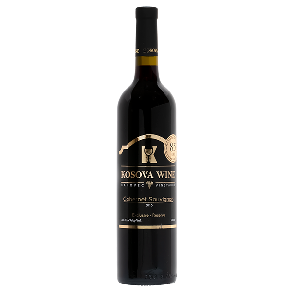 KOSOVA WINE Cabernet Sauvignon Exclusive V-HQ 6750ml