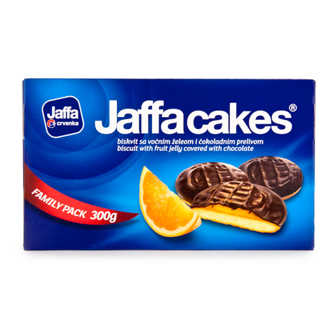 CRVENKA Jaffa Biscuit Orange 12/300g