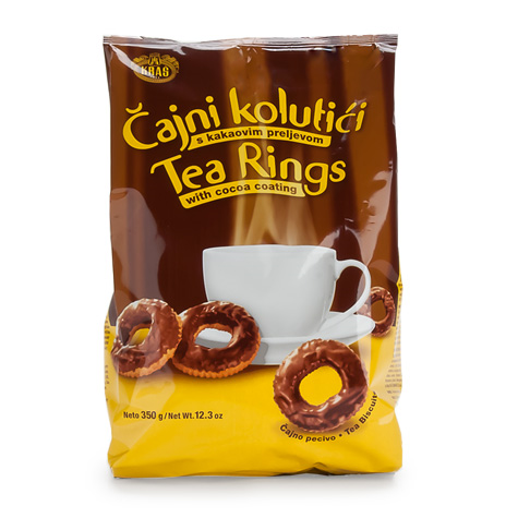 KRAS Cajni Kolutici Chocolate Cover 10/350g