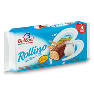 BALCONI Rollino Milk Cream Fill 20/222g