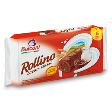 BALCONI Rollino Cocoa Cream Fill 20/222g