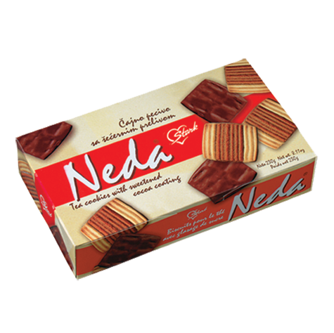 STARK Biscuits Neda Cocoa Coated 20/230g
