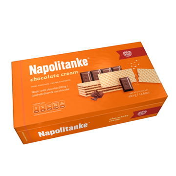 KRAS Napolitanke Chocolate Cream 12/420g