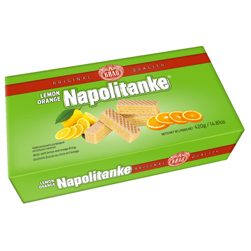 KRAS Napolitanke Lemon Orange 12/420g