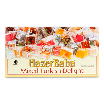 HAZERBABA Turkish Delight Mixed 12/454g