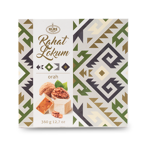 KLAS Rahatlokum Turkish Delight Walnut 11/360g