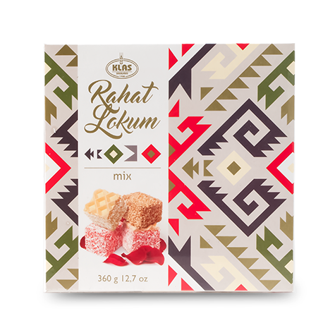 KLAS Rahatlokum Turkish Delight Mix 11/360g