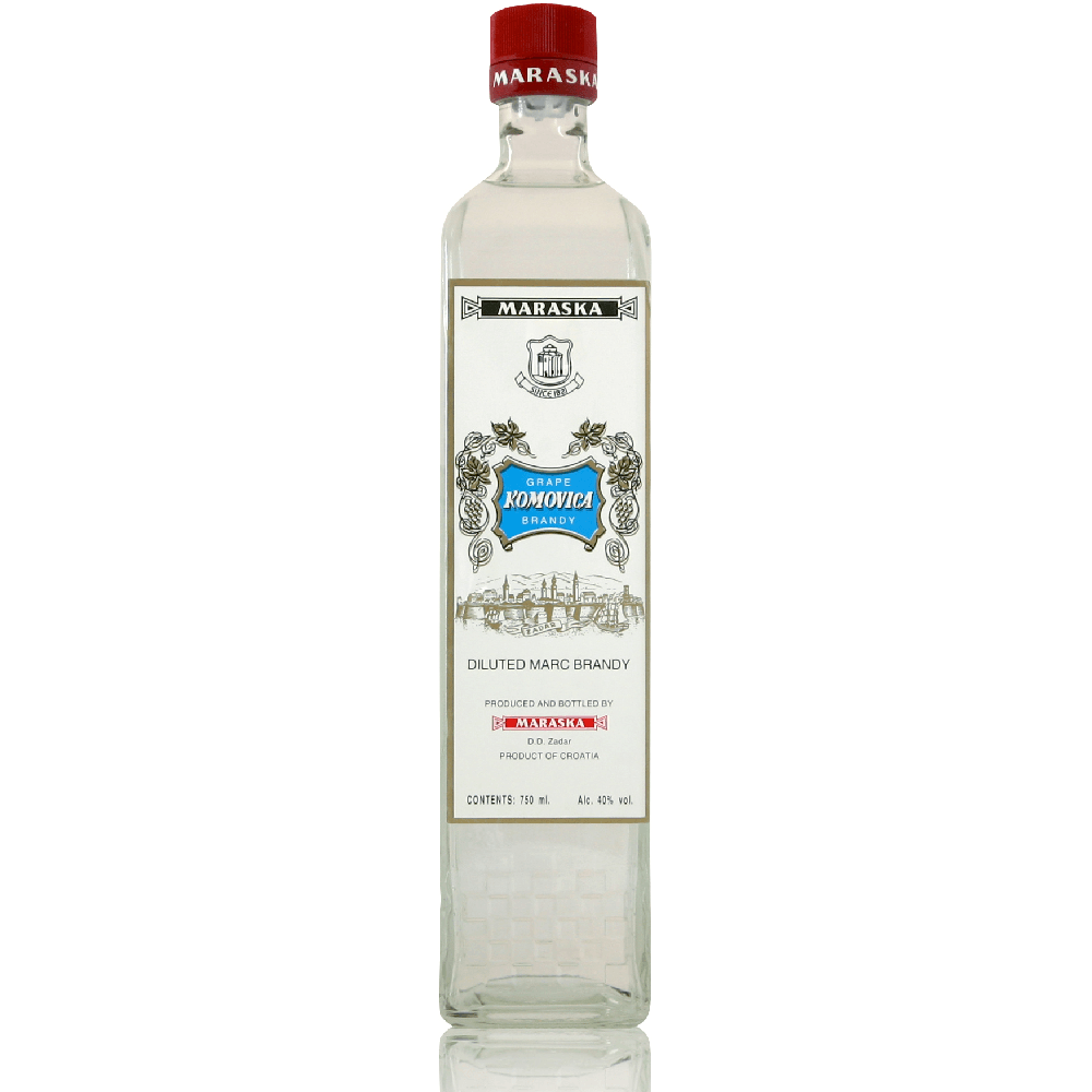 MARASKA Komovica Grape Brandy 6/750ml