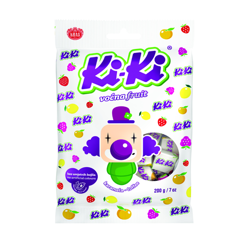 KRAS Candy Kiki Fruit 20/200g