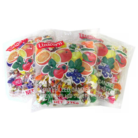 KRAS Candy Unicorn Mixed Fruit 20/275g