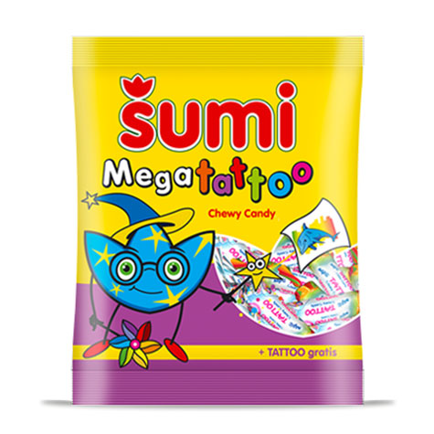 ZITO Sumi Candy Mega Tattoo 28/74g