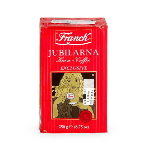 FRANCK Jubilarna Ground [Coffee] 24/250g