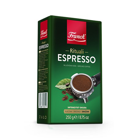 FRANCK Espresso Ground [Coffee] 16/250g