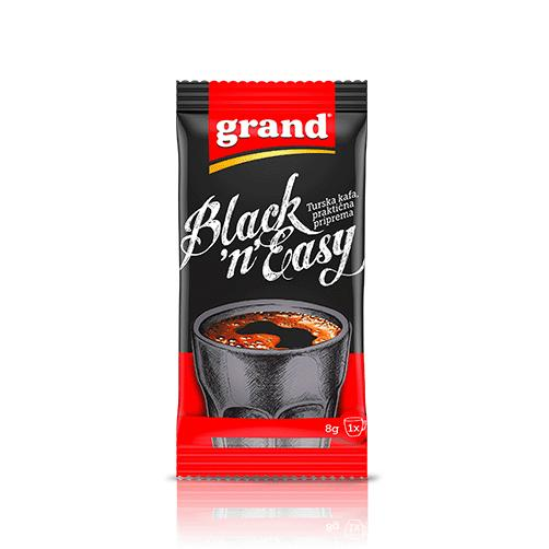 GRAND Kafa Black and Easy Instant Turkish [Coffee] 8/26x8g