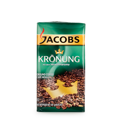JACOBS Kronung [Coffee] 12/250g