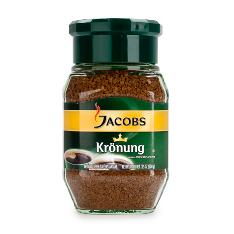 JACOBS Instant [Coffee] Kronung 6/200g