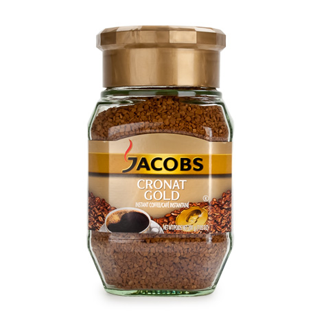JACOBS Instant [Coffee] Cronat Gold 6/200g