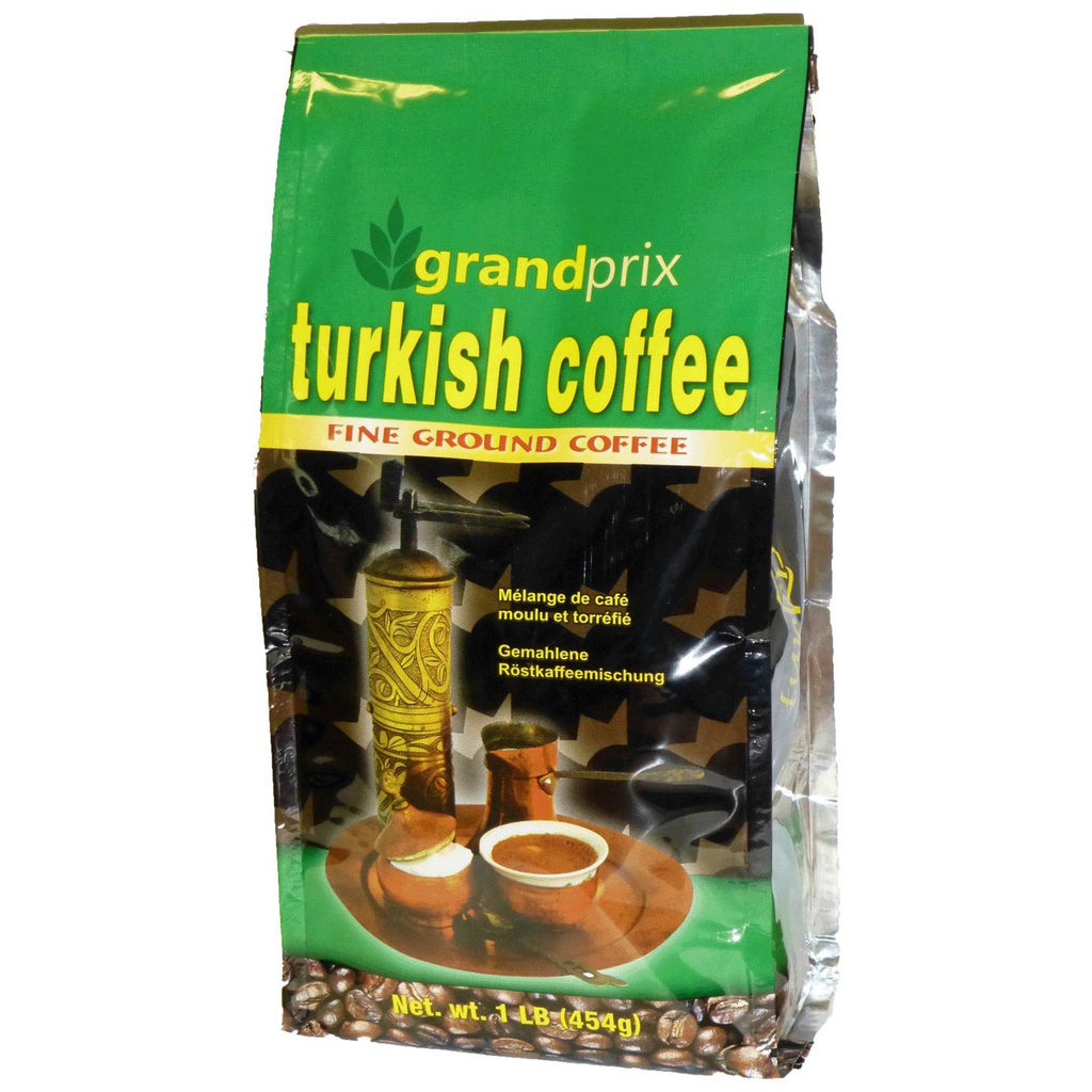 GRAND PRIX Turkish Coffee Ground [Coffee] 10/454g