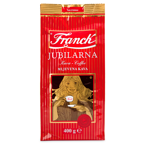 FRANCK Jubilarna Ground [Coffee] 10/400g