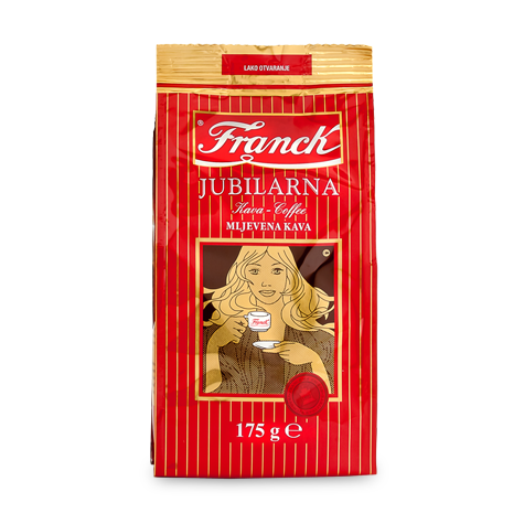 FRANCK Jubilarna Ground [Coffee] 12/175g