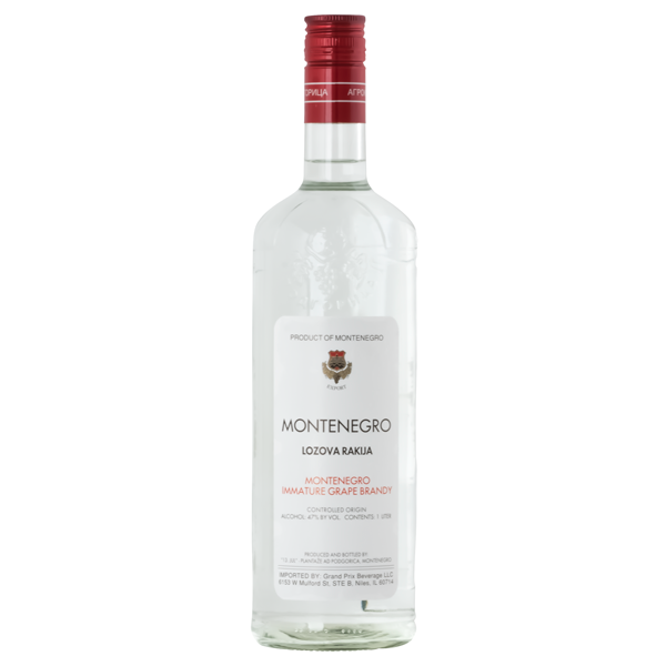 PLANTAZE Lozova Rakija [Grape Brandy] 6/1L
