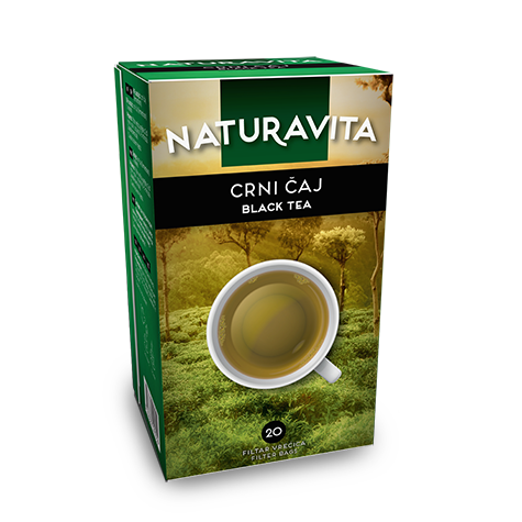 NATURAVITA Tea Black 12/30g