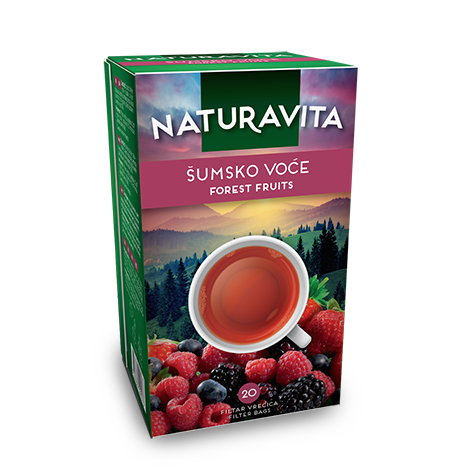 NATURAVITA Tea Forest Fruits 12/60g