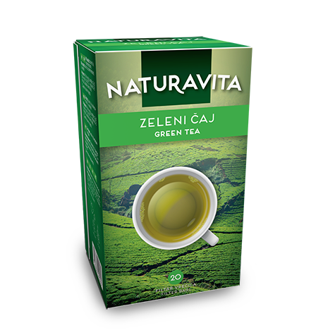 NATURAVITA Tea Green 12/40g