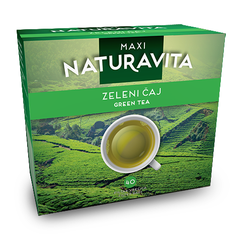 NATURAVITA Tea Green Maxi 16/80g