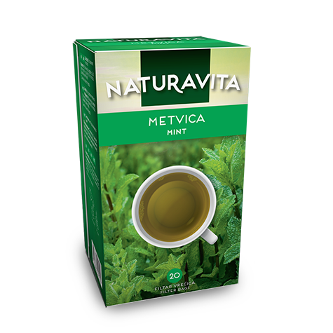 NATURAVITA Tea Peppermint 12/30g