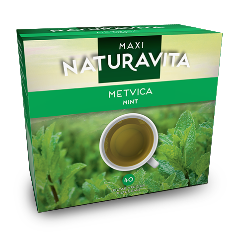 NATURAVITA Tea Peppermint Maxi 16/60g