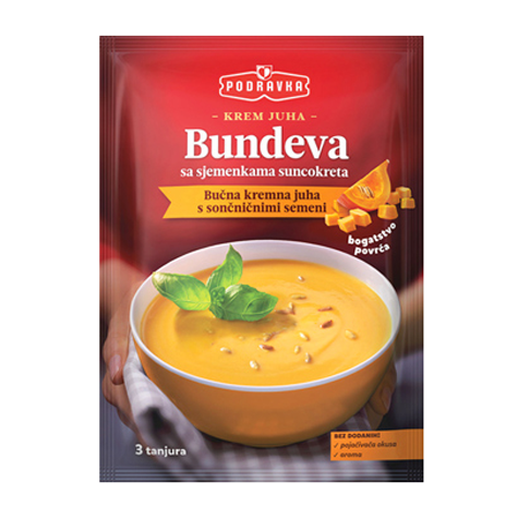 PODRAVKA Soup Cream of Pumpkin 18/72g