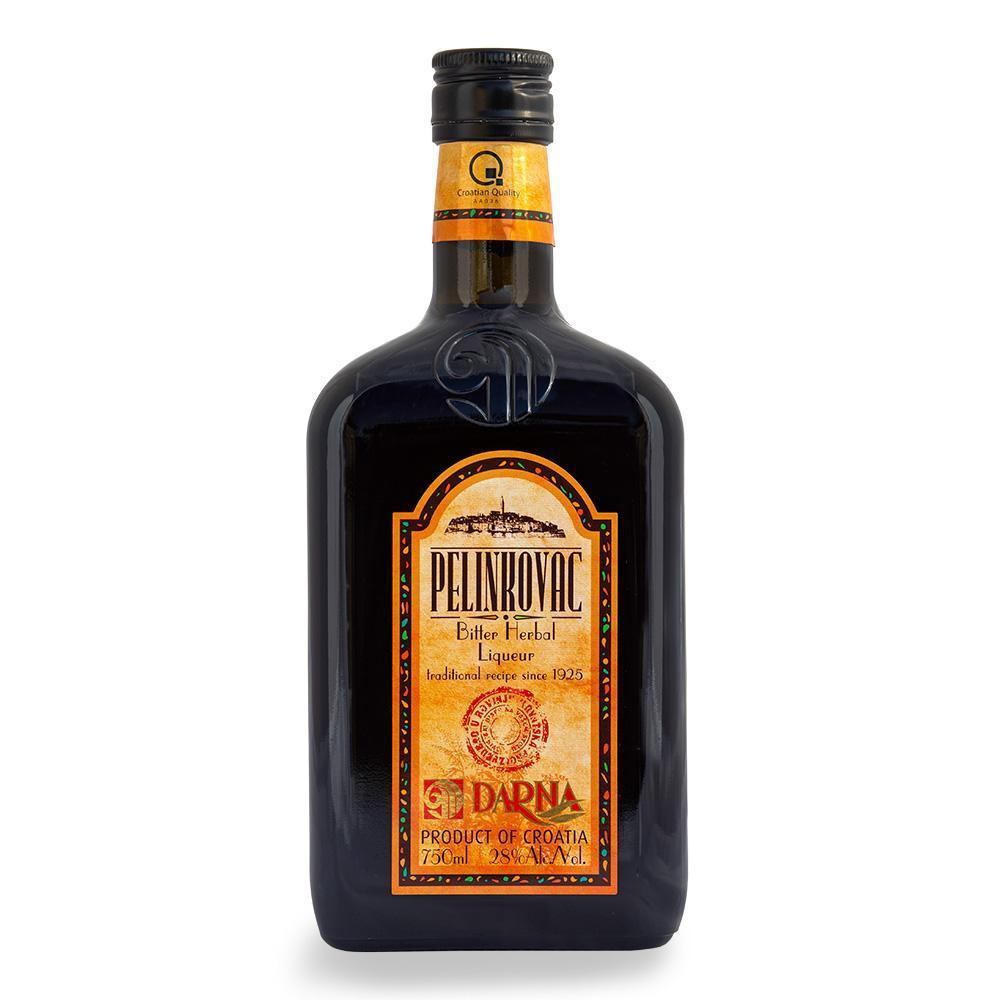 DARNA Liquor Pelinkovac [Bitter Herbal Liquor] alc. 28% 6/750ml